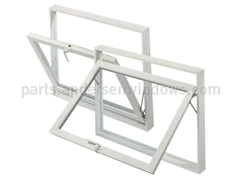 andersen basement utility window parts