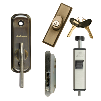A Series Patio Door Locks Andersen Windows Amp Doors
