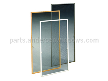 Insect screens for andersen 400 series casement windows for Window screens for sale