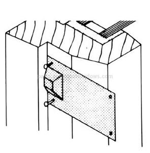 detail w wcasement sash on door awning kits