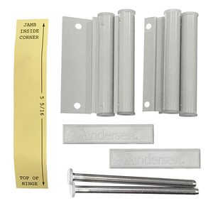 Hinged Insect Screen Installation Hardware Package 2579063