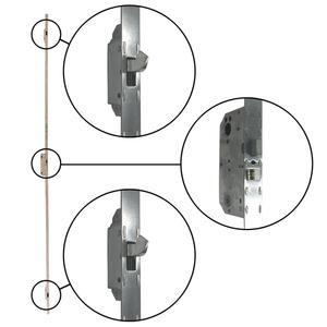 A-Series Hinged Door Active Panel 3-Point HCR Lock Mechanism 9055463 A-Series Hinged Patio Door Hardware  sc 1 st  Windows u0026 Patio Doors Replacement Parts - Andersen Windows & A-Series Hinged Door Active Panel 3-Point HCR Lock Mechanism 9055463 ...