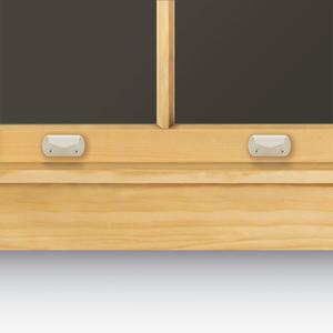 White Sash Finger Lift 1643004 Andersen Windows Amp Patio