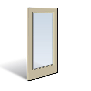 Frenchwood 174 Hinged Inswing Patio Door Panel 0922008 Panels