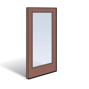 Frenchwood Panel 2651008   Andersen Patio Doors Patio Door Panels   Andersen  Frenchwood Gliding Patio Doors