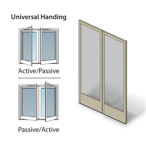 Hinged Patio Door Double Hinged Insect Screen Kit 0920924
