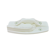 Andersen Sash Lock and Keeper White Traditional Kit