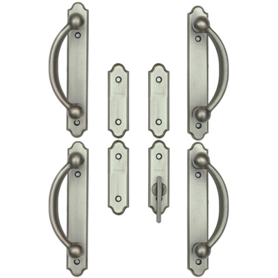 Encino Distressed Nickel Trim Set 2565556 Andersen Doors