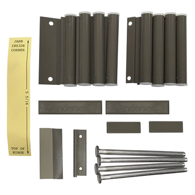 Hinged Insect Screen Installation Hardware Package 2668648