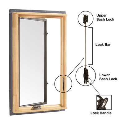 Short Tandem Sash Lock Left Hand 1361904 Casement Locks
