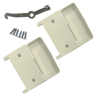 Four Panel Gliding Door Screen Hardware Package 9061983