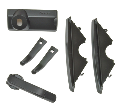 Contemporary Black Folding Hardware 9031754 Andersen