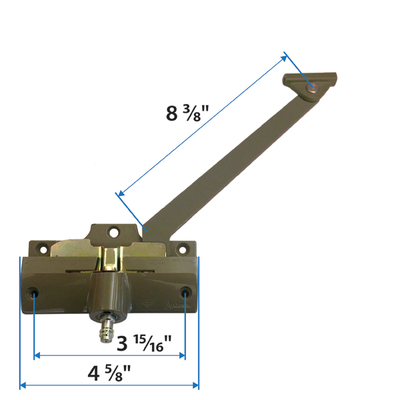 Right Hand Stone Straight Arm Operator 1361314 Andersen