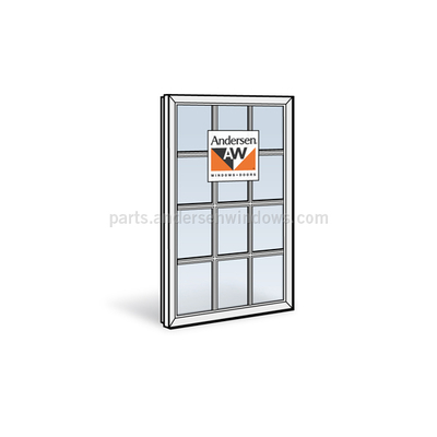 Andersen 400 series casement sash 1348185 window sash Andersen 400 series casement windows price
