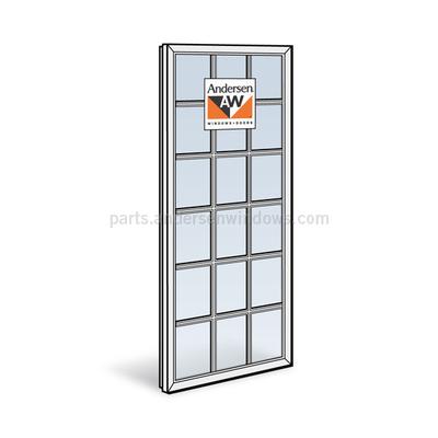 Andersen 400 series casement sash 1348188 window sash for Andersen casement window screens