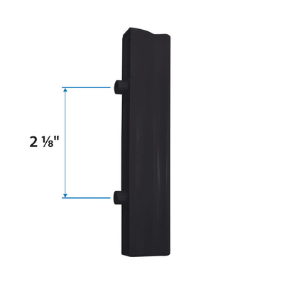 Black 2 And 3 Panel Gliding Insect Screen Exterior Pull