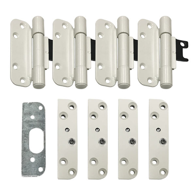 Andersen White Left Hand 4 Hinge Pack 80 Height Doors