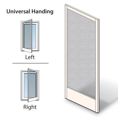 Gliding Insect Screen Door - Andersen® Frenchwood® Hinge Patio ...