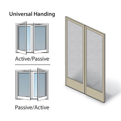 Hinged Patio Door Double Hinged Insect Screen Kit 0920922