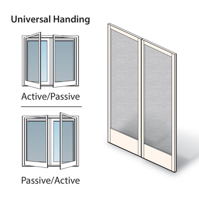 Hinged Patio Door Double Hinged Insect Screen Kit 2576017 Hinged ...