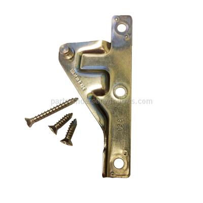 Right Hand Split Arm Operator Sash Bracket With Screws