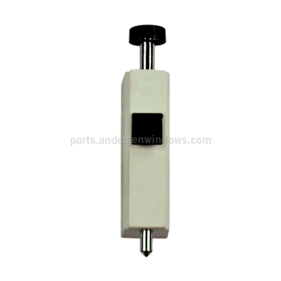 Gliding Patio Door White Auxiliary Foot Lock 1997301 Auxiliary Foot Locks  sc 1 st  Windows u0026 Patio Doors Replacement Parts - Andersen Windows & Gliding Patio Door White Auxiliary Foot Lock 1997301 Auxiliary Foot ...