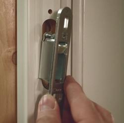 Lock & Receiver Kit - Andersen Gliding Patio Door 2562123 - Andersen Andersen Sliding Door Lock Receiver on