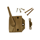 Casement Sash Lock with Screws and Keeper