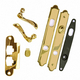 Hinged Patio Door Hardware - Complete Trim Set