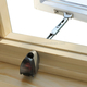 Casement Window Opening Control Device