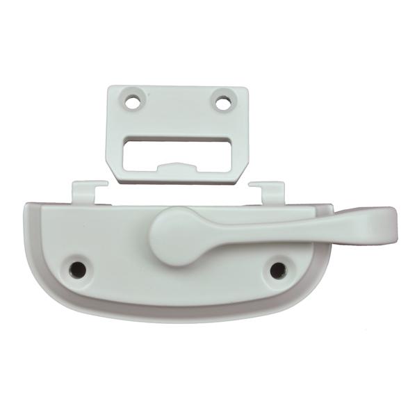 Tilt Window Locks : White sash lock and keeper  andersen windows
