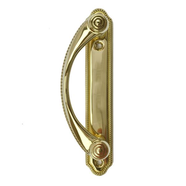 Andersen 174 Gliding Patio Door Handle Bright Brass 2573227 Andersen Windows And Doors