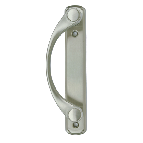 Andersen® Gliding Patio Door Handle, Satin Nickel 2579434   Andersen  Windows And Doors