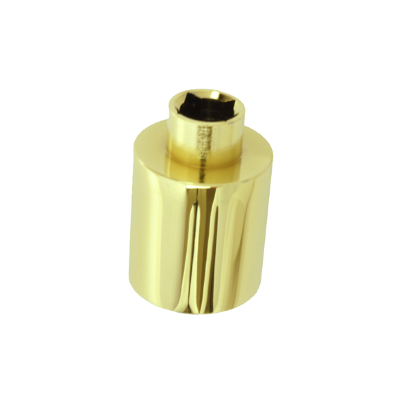 Hinged Patio Door Handle Extender Bright Brass 2579821