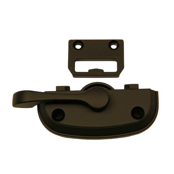 Tilt Window Locks : Black sash lock and keeper  andersen windows