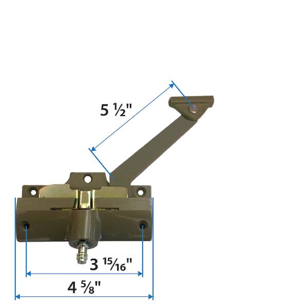 andersen wood casement window sizes casement straight arm operator 1361124 andersen windows doors