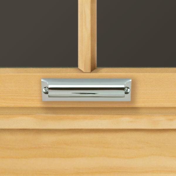 Chrome Sash Hand Lift 1643045 Andersen Windows Amp Patio Doors