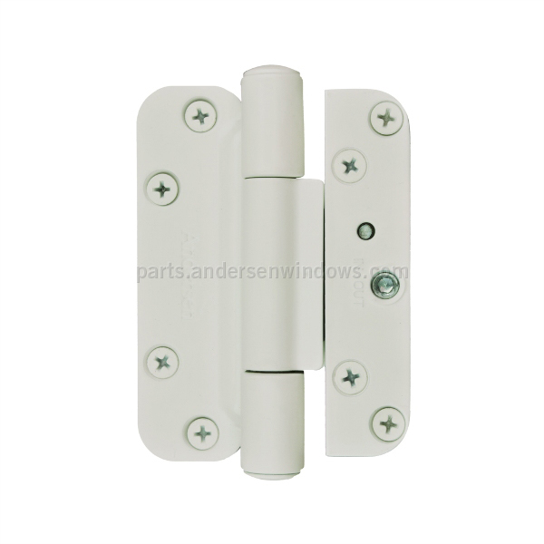 Hinge Kit White Left Andersen Windows And Doors