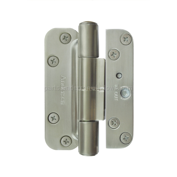 Hinge Kit Satin Nickel Left Andersen Windows And Doors