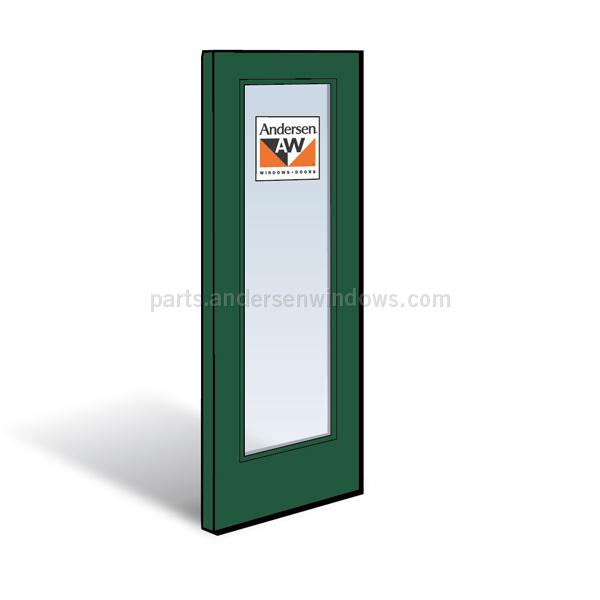 Frenchwood 174 Gliding Patio Door Panel 1262174 Andersen
