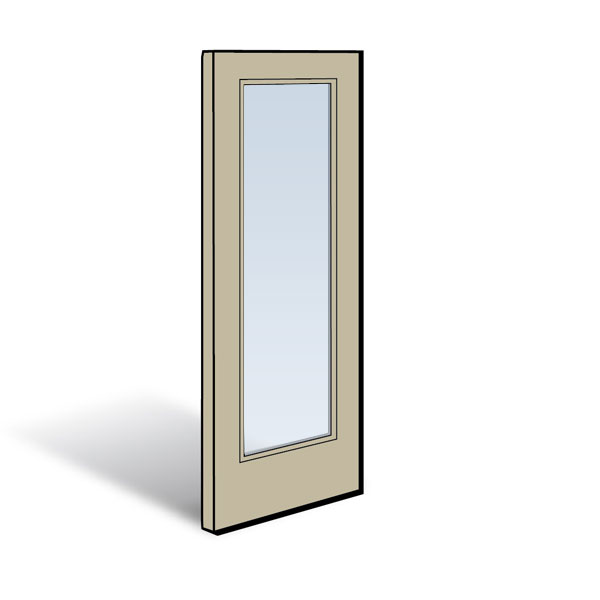 Frenchwood 174 Gliding Patio Door Panel 0910947 Andersen