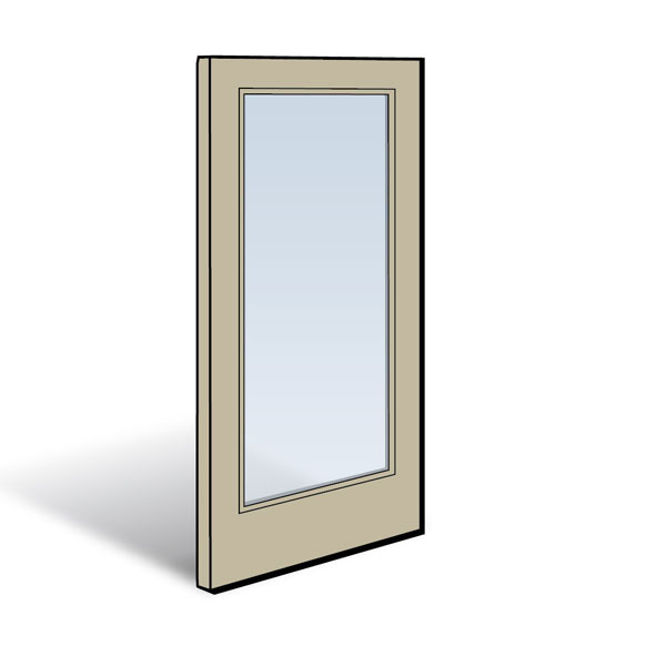 Frenchwood 174 Hinged Inswing Patio Door Panel Andersen