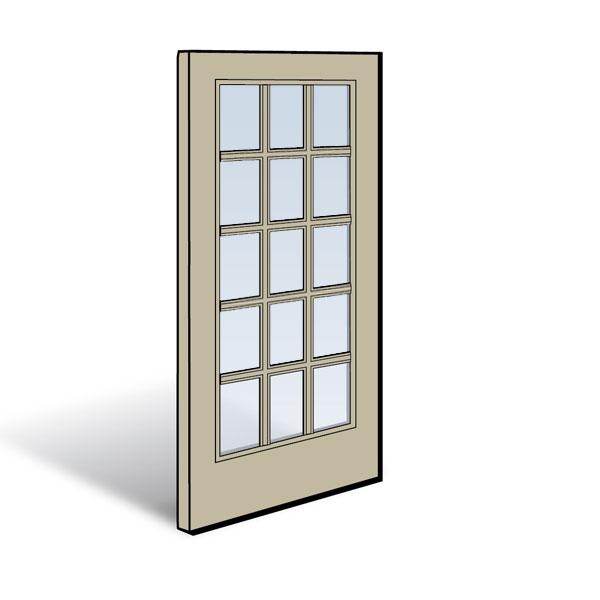 Frenchwood Hinged Inswing Patio Door Panel Andersen