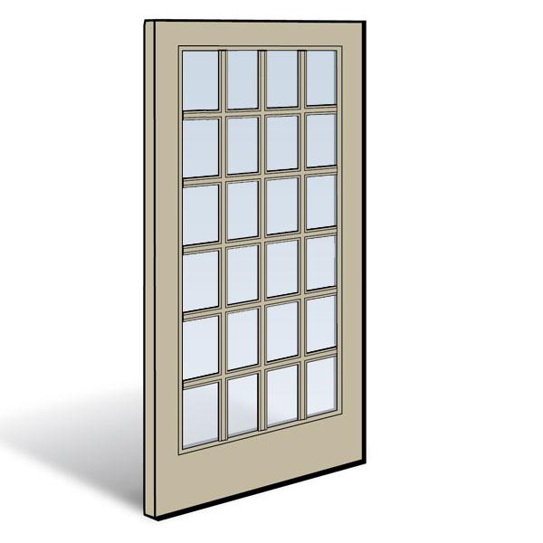 Frenchwood 174 Gliding Patio Door Panel 0911190 Andersen