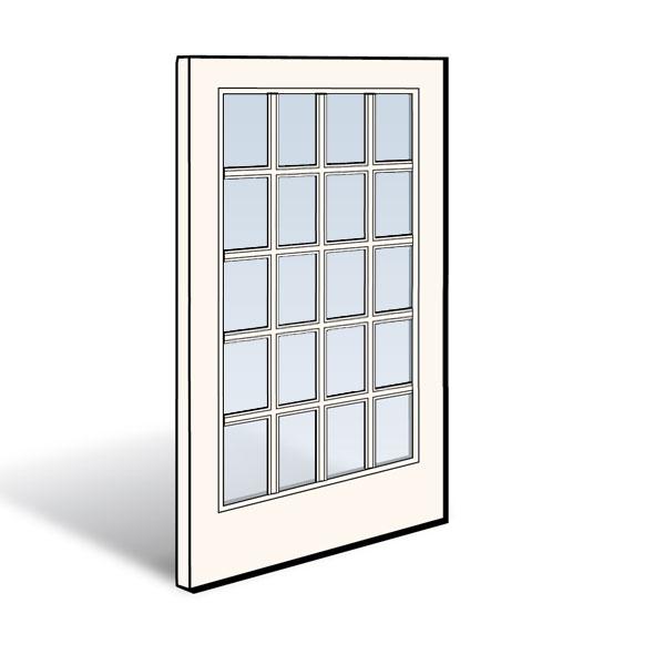 Frenchwood Gliding Patio Door Panel 2566123 Andersen