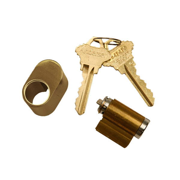 Hinged Patio Door Keyed Lock Antique Brass 2579519