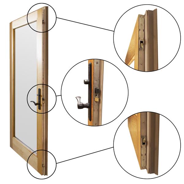 Active Door 3 Point Lock Mechanism Panel 2579771