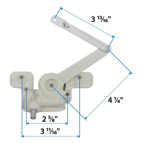 Casement Split Arm Operator Corrosion Resistant 1361481