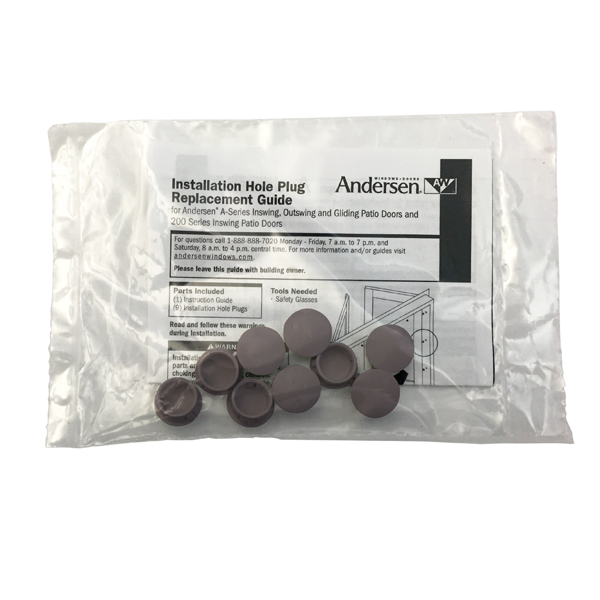 Andersen 174 Frame Hole Plugs 9014048 Andersen Windows And