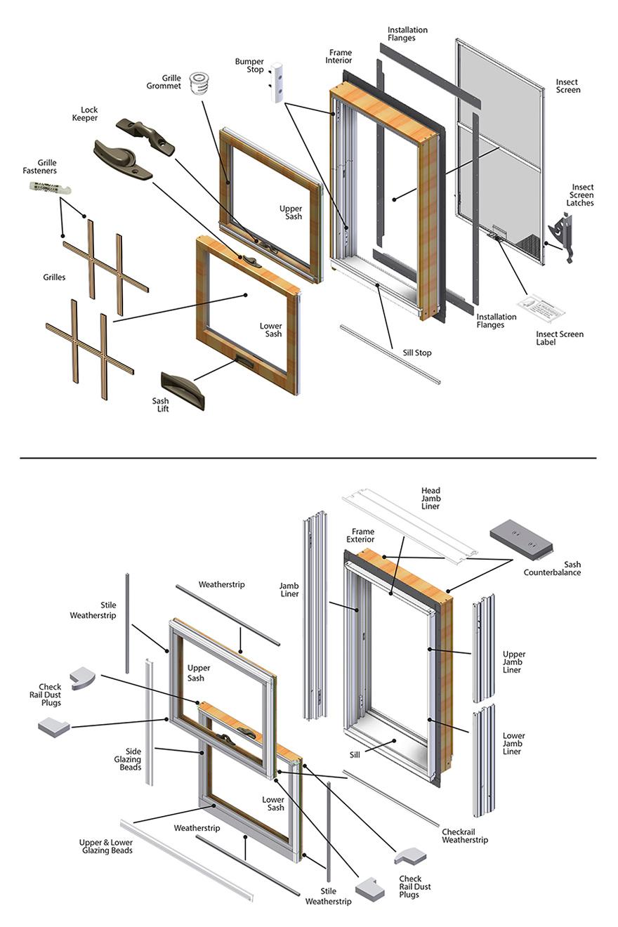 Casement Window Parts : Casement window parts diagram bing images